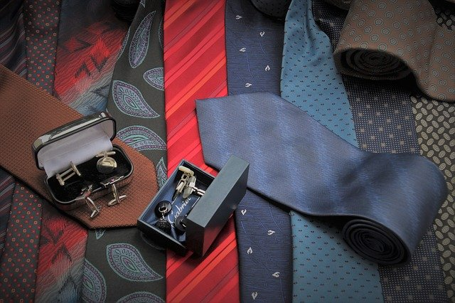 Ties and belts.