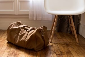 A bag packed for your long distance move