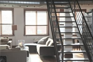 stairs in an apartment