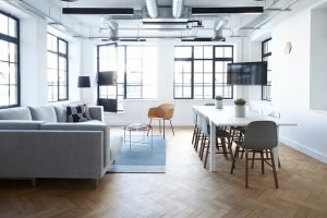 Relaxing space within the office