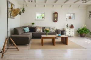 living room furniture when you baby-proof your home