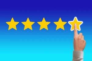 Rating by stars - Rate your movers after you write a good moving review
