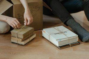 A box for books.