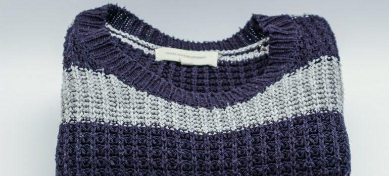 A winter sweater.