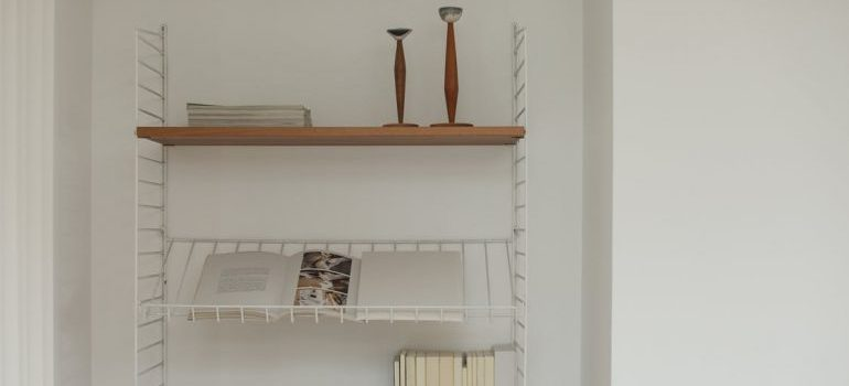 Shelves that you can rely on for storing your fragile items
