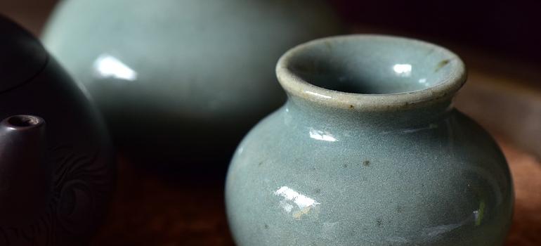 Mint pottery