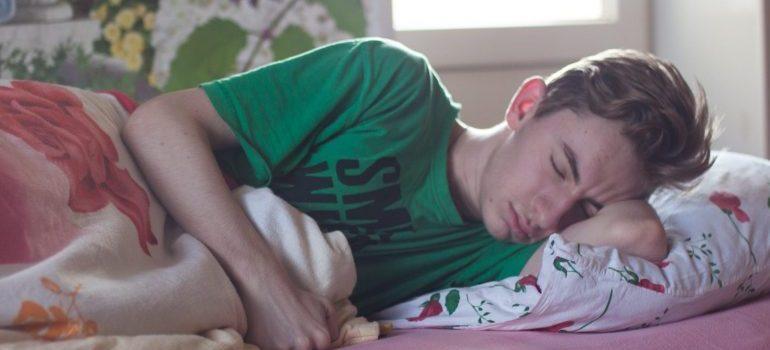 teenager, kid, sleeping