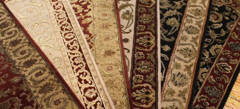 Move carpets and rugs