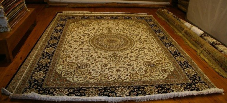 Carpet and rugs on the floor