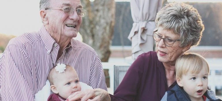 Grandparents who know all the packing hacks for big families