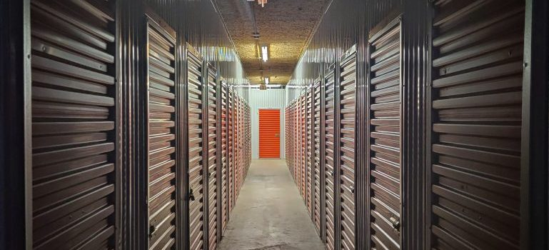 storage facility from the inside