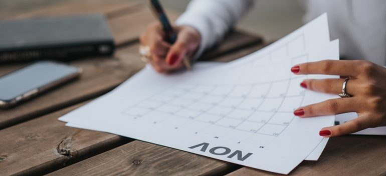 using a calendar can simplify your NYC relocation