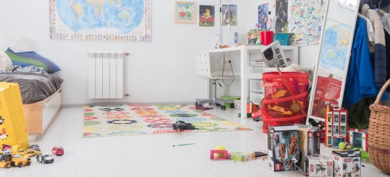 nursery into kid's room - transformed